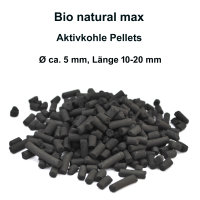 Bio natural max, Aquarium Filter Aktiv-Kohle, 350g...