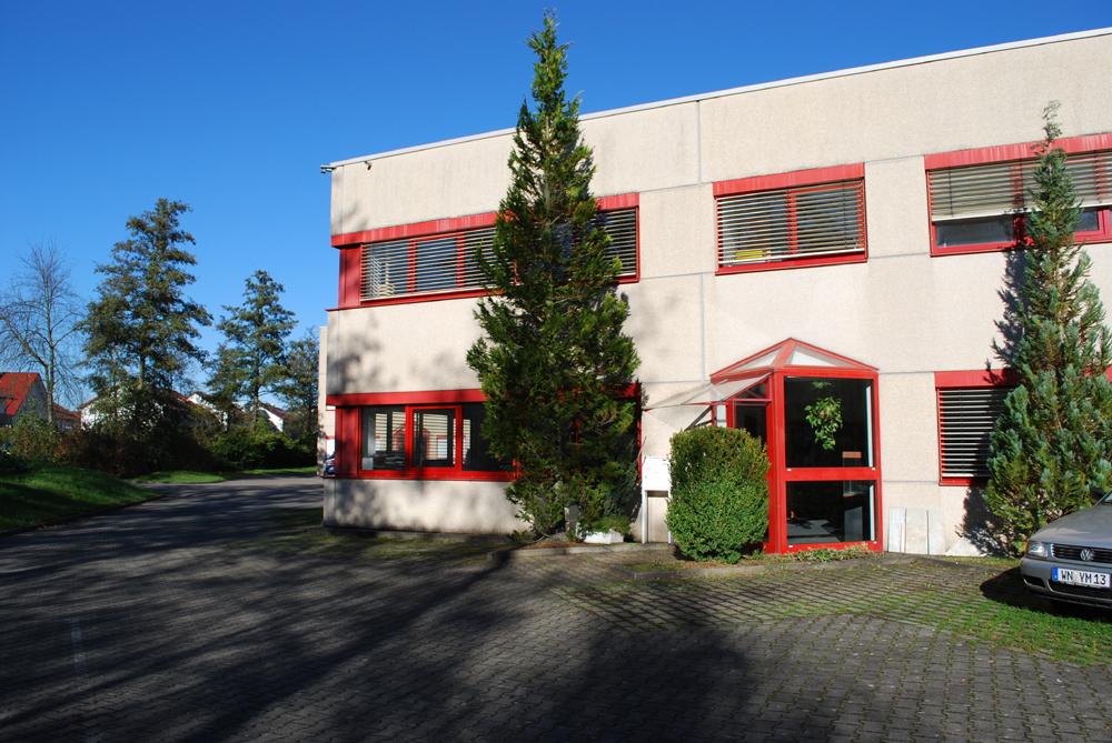 Büro Eingang